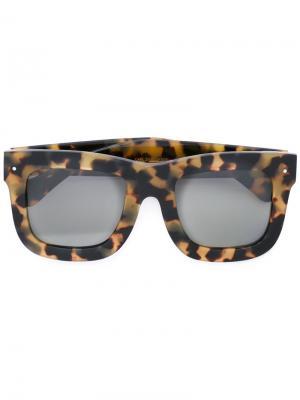Солнцезащитные очки Status Grey Ant. Цвет: коричневый