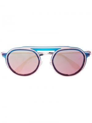 Солнцезащитные очки Ghosty в круглой оправе Thierry Lasry