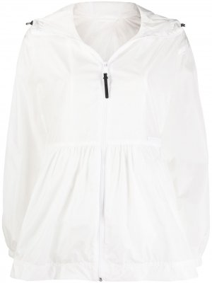 Легкая куртка с баской Duvetica. Цвет: белый