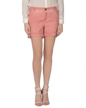 Повседневные шорты FAIRLY. Цвет: пастельно-розовый