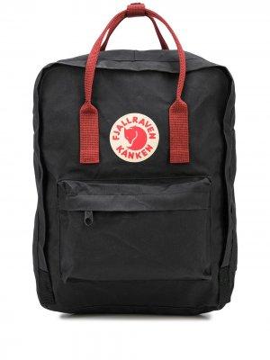 Рюкзак Kanken с нашивкой-логотипом Fjällräven. Цвет: черный
