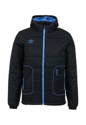 Куртка утепленная Umbro PRODIGY PADDED JACKET. Цвет: черный