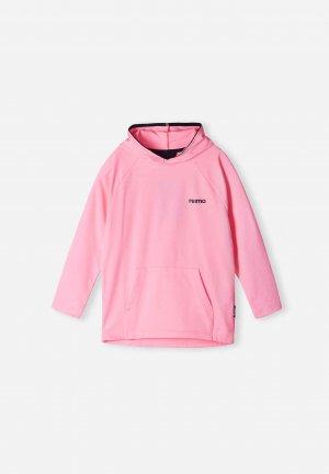 Толстовка Funtsi Розовая Reima. Цвет: розовый