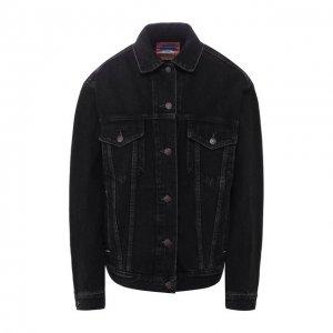 Джинсовая куртка Acne Studios. Цвет: чёрный
