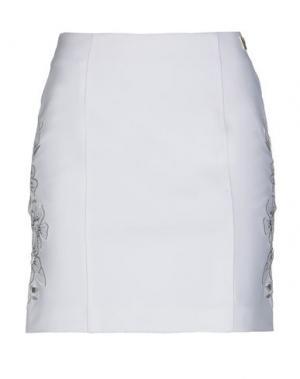 Мини-юбка VDP COLLECTION. Цвет: белый