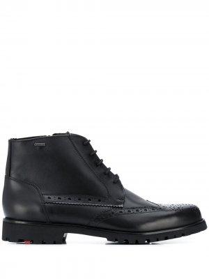 Ботинки с перфорацией Lloyd. Цвет: черный