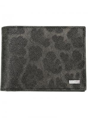 Бумажник Dauphine Dolce & Gabbana. Цвет: черный