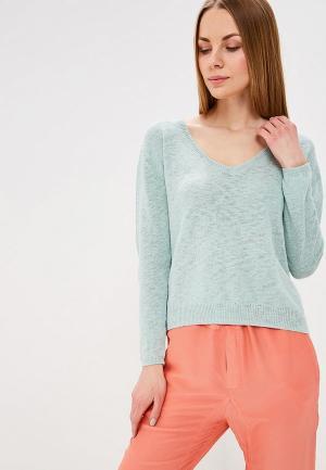 Пуловер Sacks Sack's. Цвет: бирюзовый