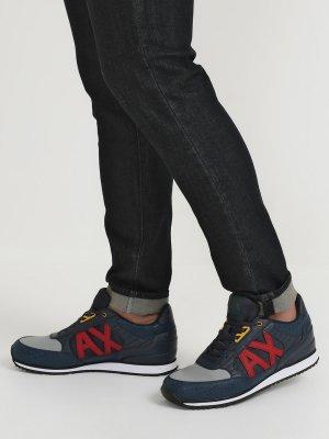 Мужские кроссовки Armani Exchange. Цвет: multikolor