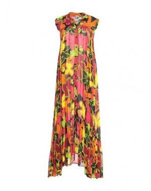 Платье длиной 3/4 I'M ISOLA MARRAS. Цвет: пурпурный