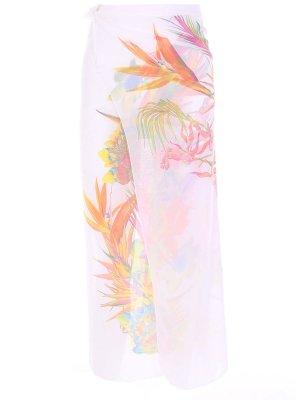 Парео с цветочным принтом NICOLE OLIVIER