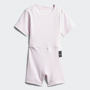 Комбинезон EQT Originals adidas. Цвет: белый