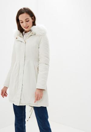 Куртка утепленная Gaudi. Цвет: белый