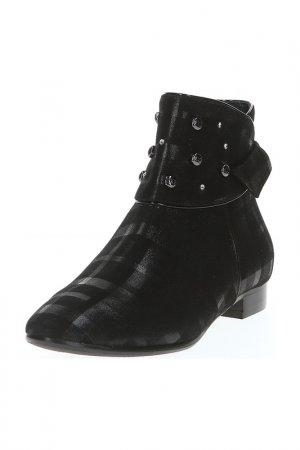 Ботинки Giada Gabrielli. Цвет: черный, замша