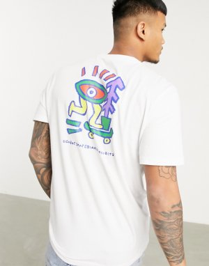 Белая футболка Larimer-Белый Element