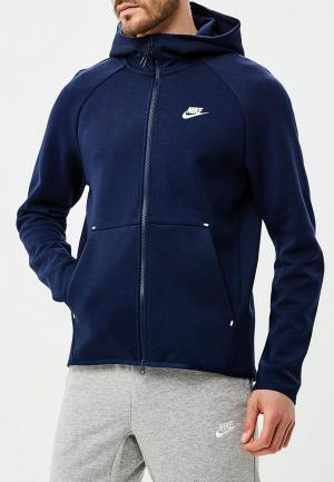 c3c66d15 Толстовка Nike Sportswear Tech Fleece Mens Full-Zip Hoodie. Цвет: синий