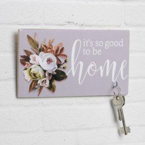 Ключница home, 2 крючка, 20 х 11 см Семейные традиции
