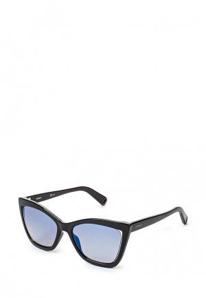 Очки солнцезащитные Max&Co MAX&CO.285/S TWQ. Цвет: черный