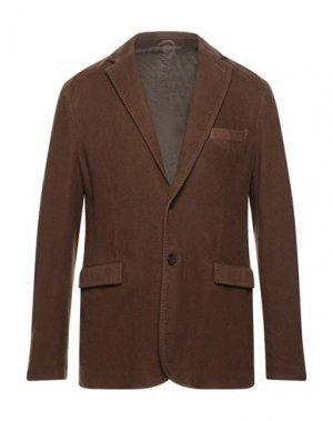 Пиджак ASPESI. Цвет: коричневый