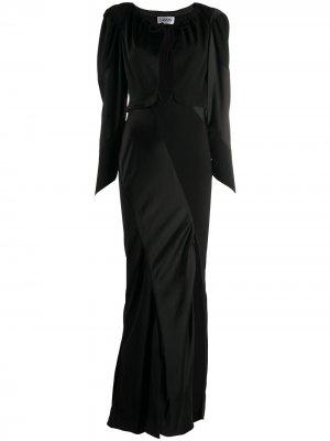 Вечернее платье LANVIN. Цвет: черный