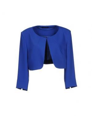 Пиджак EDAS. Цвет: ярко-синий