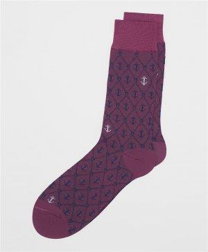 Носки HENDERSON. Цвет: фиолетовый