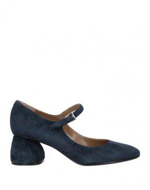 Туфли CARVEN. Цвет: темно-синий