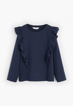 Блуза Mango Kids - CARLOTA5. Цвет: синий
