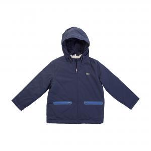Куртка Lacoste. Цвет: темно-синий