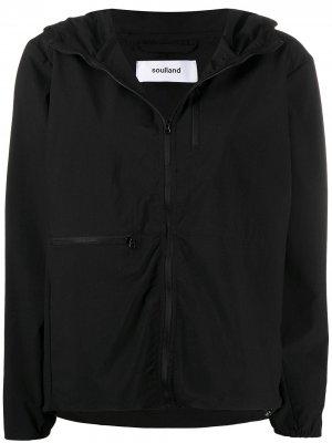 Куртка Reese с капюшоном Soulland. Цвет: черный