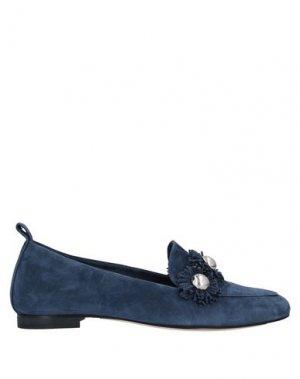 Мокасины ANNA F.. Цвет: темно-синий