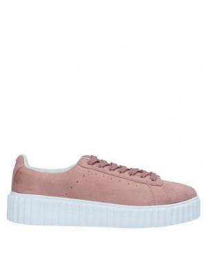 Низкие кеды и кроссовки AMUST. Цвет: пастельно-розовый