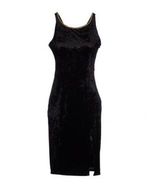 Короткое платье EXPLOSION. Цвет: черный