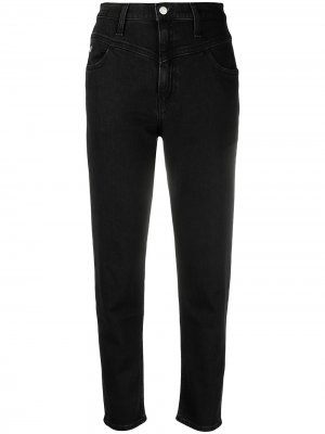 Прямые джинсы Calvin Klein Jeans. Цвет: черный