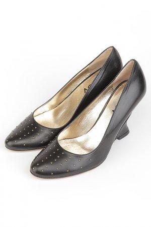 Туфли CLOV. Цвет: черный