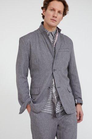 Пиджак мужской Finn-Flare. Цвет: темно-серый