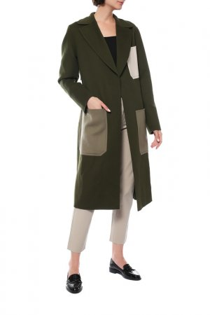 Пальто Joseph. Цвет: зеленый