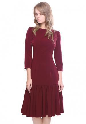 Платье Marichuell NANA. Цвет: бордовый