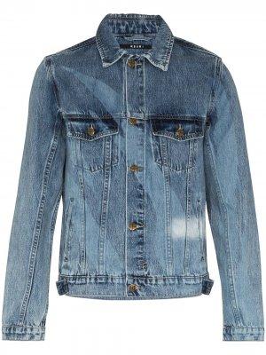Джинсовая куртка Retrograde Ksubi. Цвет: синий