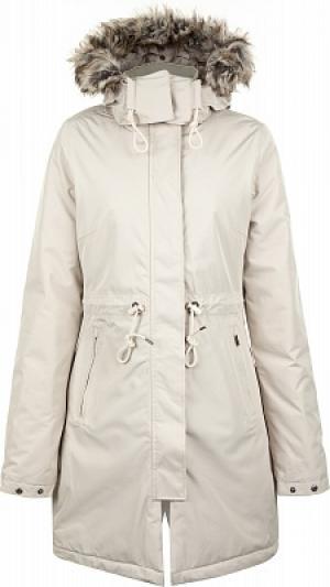 Куртка утепленная женская Zaneck, размер 42-44 The North Face. Цвет: бежевый