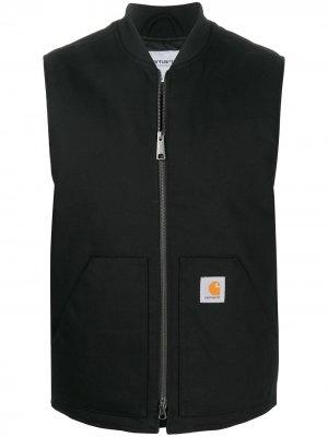 Жилет на молнии с логотипом Carhartt WIP. Цвет: черный