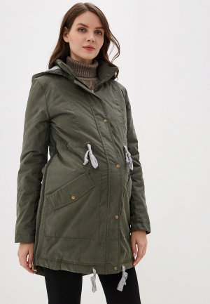 Куртка I Love Mum Токио. Цвет: хаки