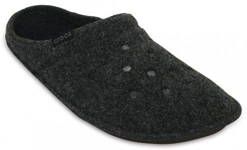 Тапочки CROCS Classic Slipper Black/Black (Черный) арт. 203600. Цвет: черный