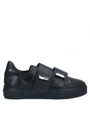 Кеды и кроссовки AGL. Цвет: черный