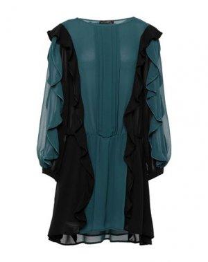 Короткое платье EUREKA by BABYLON. Цвет: цвет морской волны