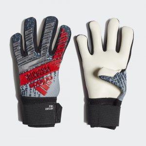 Вратарские перчатки Predator Pro Performance adidas. Цвет: черный