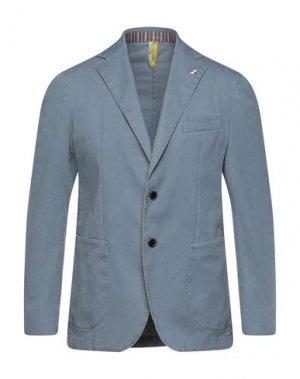Пиджак HARMONT&BLAINE. Цвет: грифельно-синий