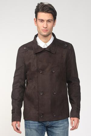 Куртка Amulet. Цвет: коричневый