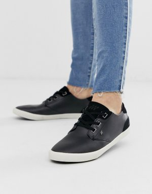 Черные кожаные кроссовки stern-Черный Boxfresh