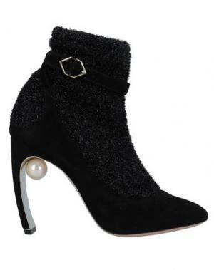 Полусапоги и высокие ботинки NICHOLAS KIRKWOOD. Цвет: черный